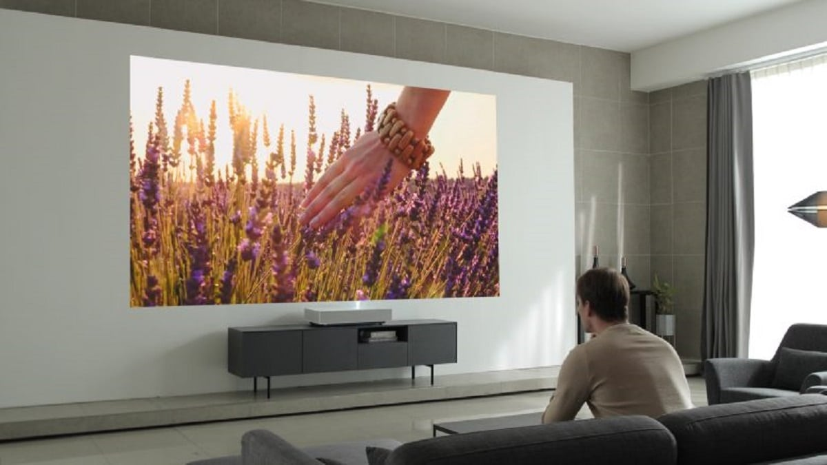 LG Cinebeam ultra courte focale