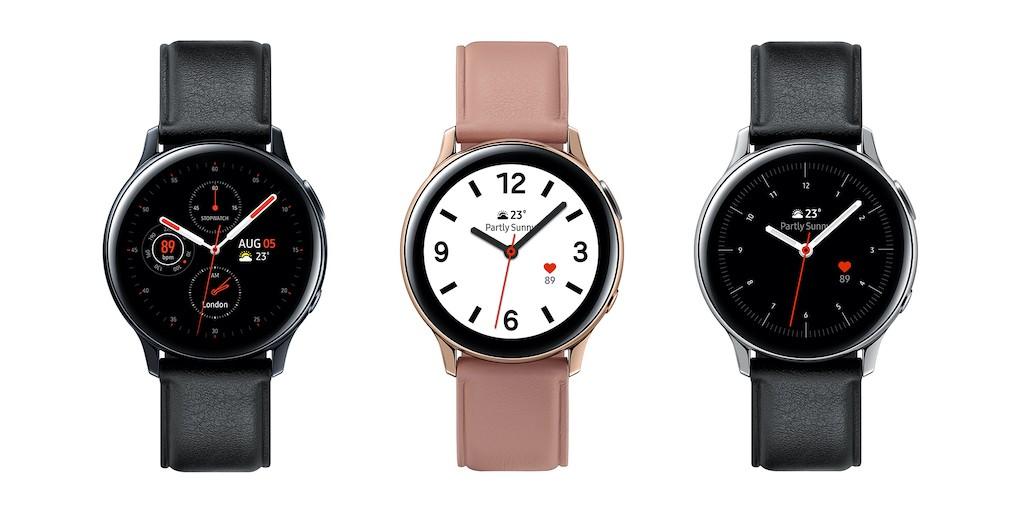 Samsung Galaxy Watch Active 2 comparatif montre connectée