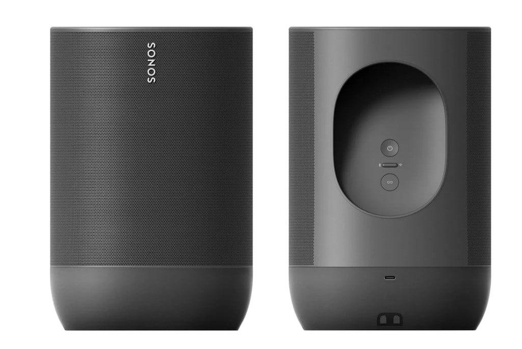 Sonos Move comparatig Google Assistant