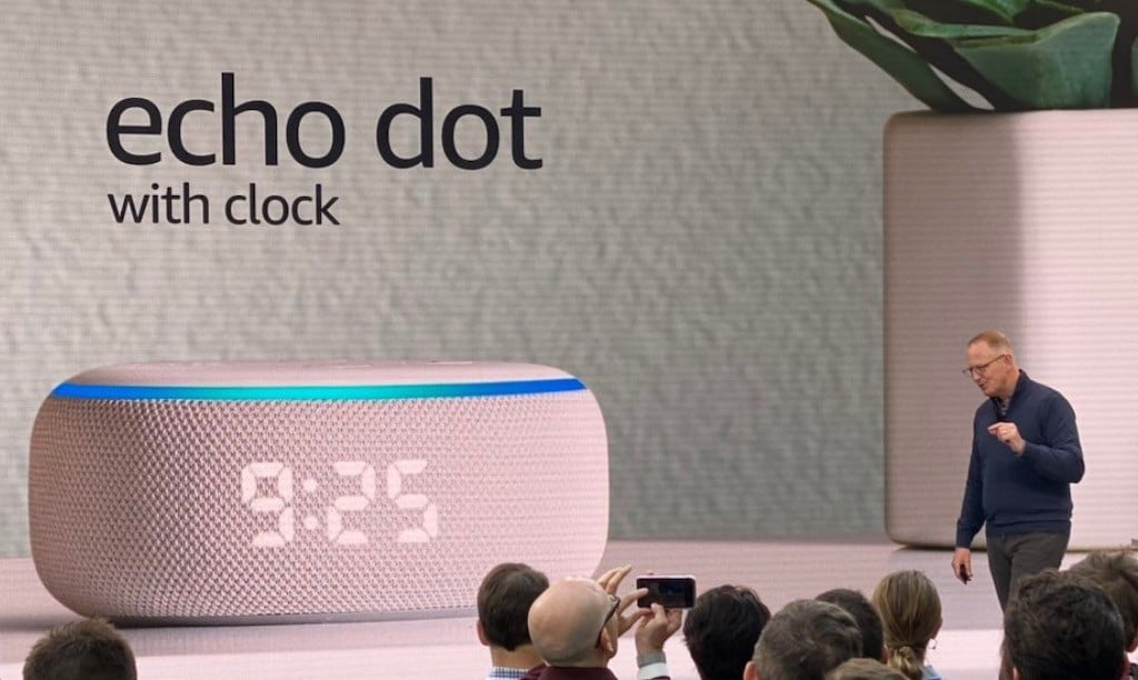 Amazon Echo Dot 4 date sortie
