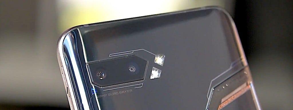 Asus Rog 2 capteurs photo