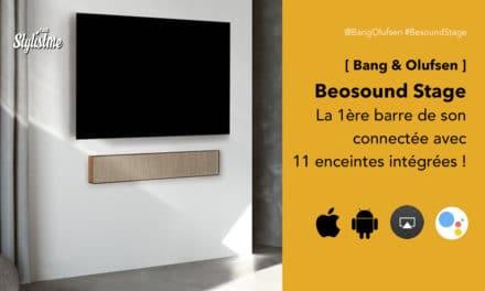 Beosound Stage avis prix test 1ere barre de son Bang Ofulsen