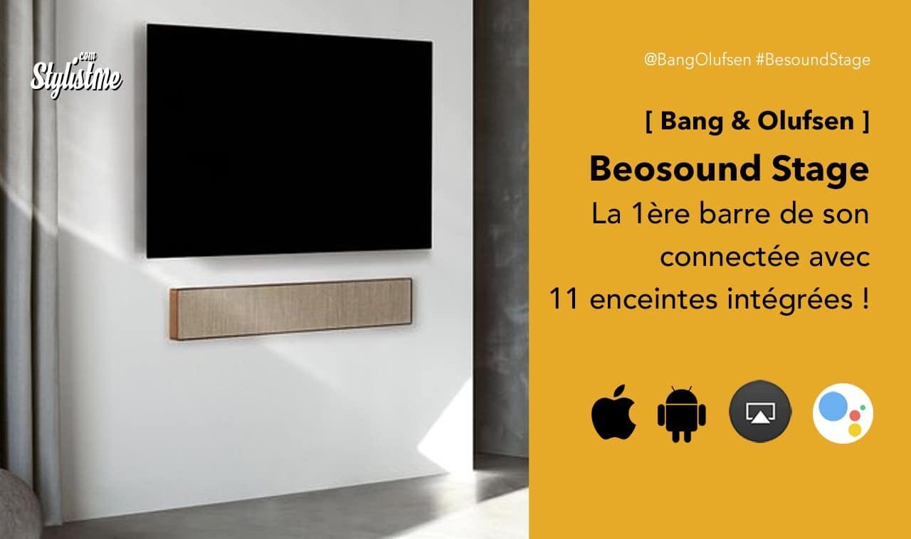 Beosound Stage avis test barre de son B&O