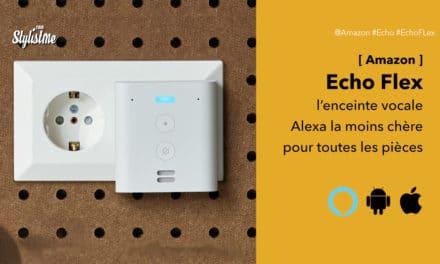 Echo Flex l'enceinte Amazon Alexa la moins chère pour toutes les pièces