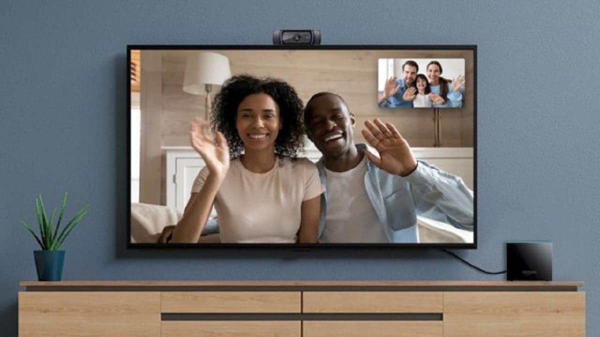 fire tv cube appel vidéo