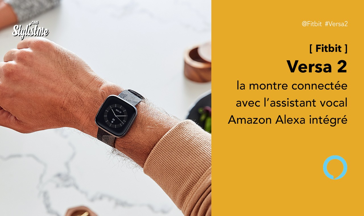 Fitbit Versa 2 prix avis test, montre connectée avec Amazon