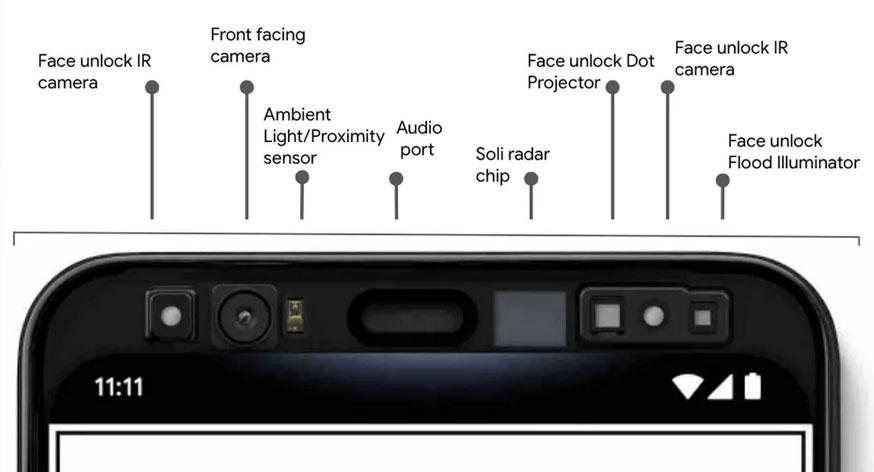 Google-Pixel-4-capteurs