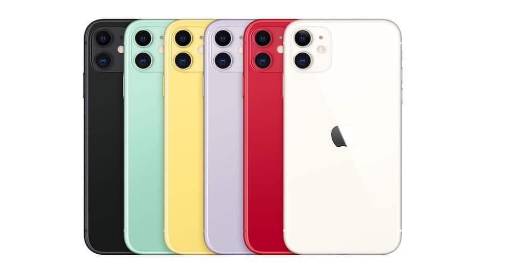 iPhone 11 couleur prix sortie