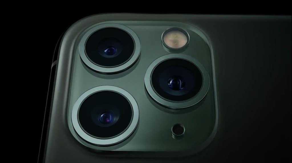 iPhone 11 pro qualité photo vidéo