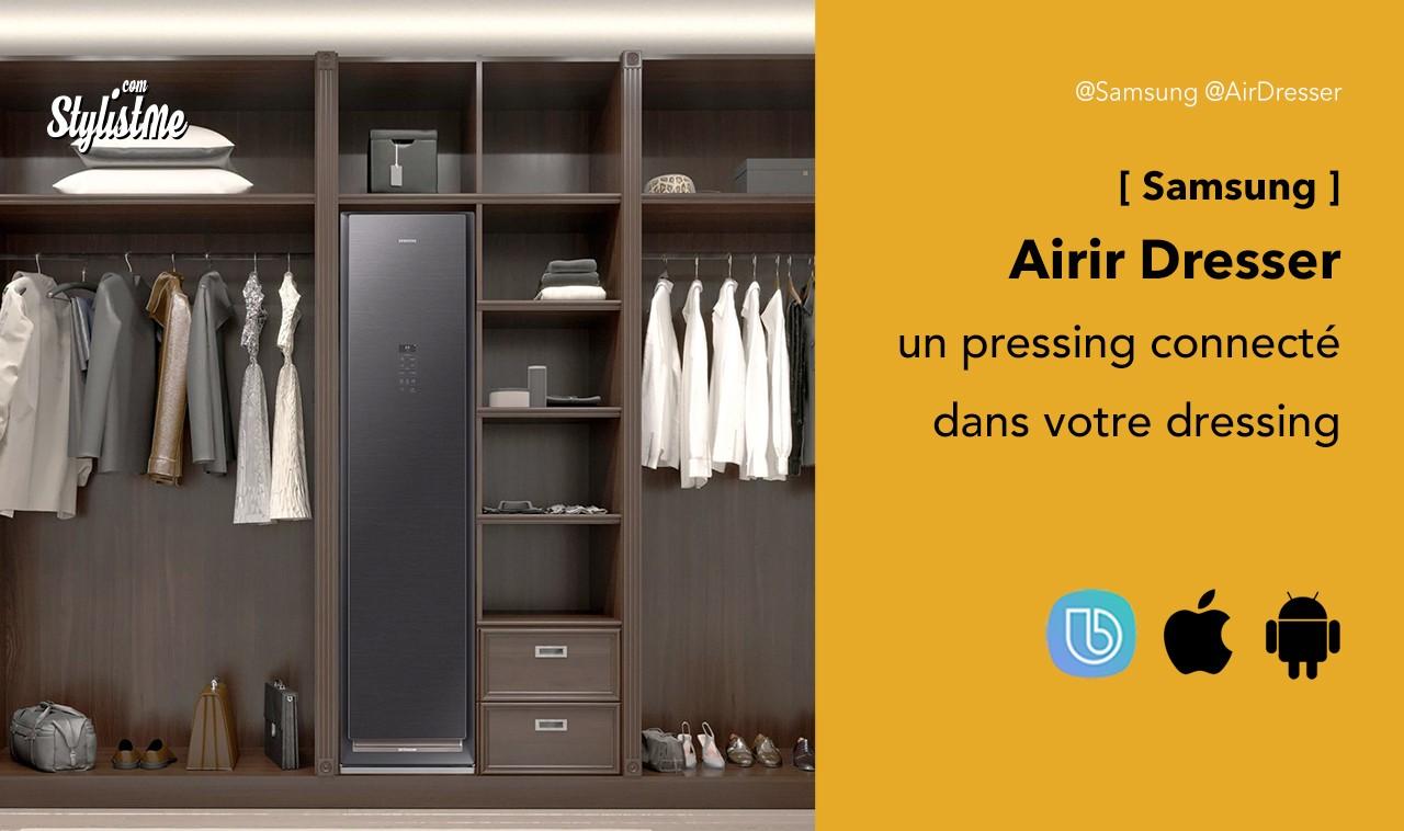 Samsung AirDresser Prix avis-test