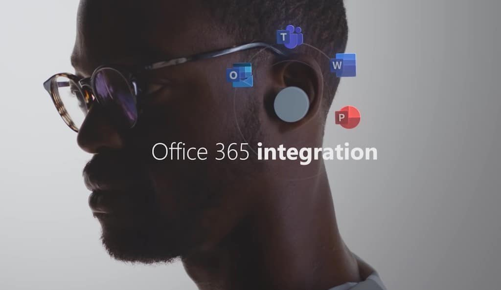 écouteurs Microsoft Surface Office 365 earbuds