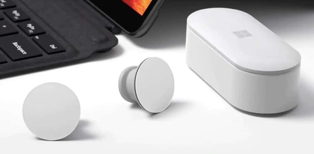 Ecouteurs Microsoft surface test earbuds