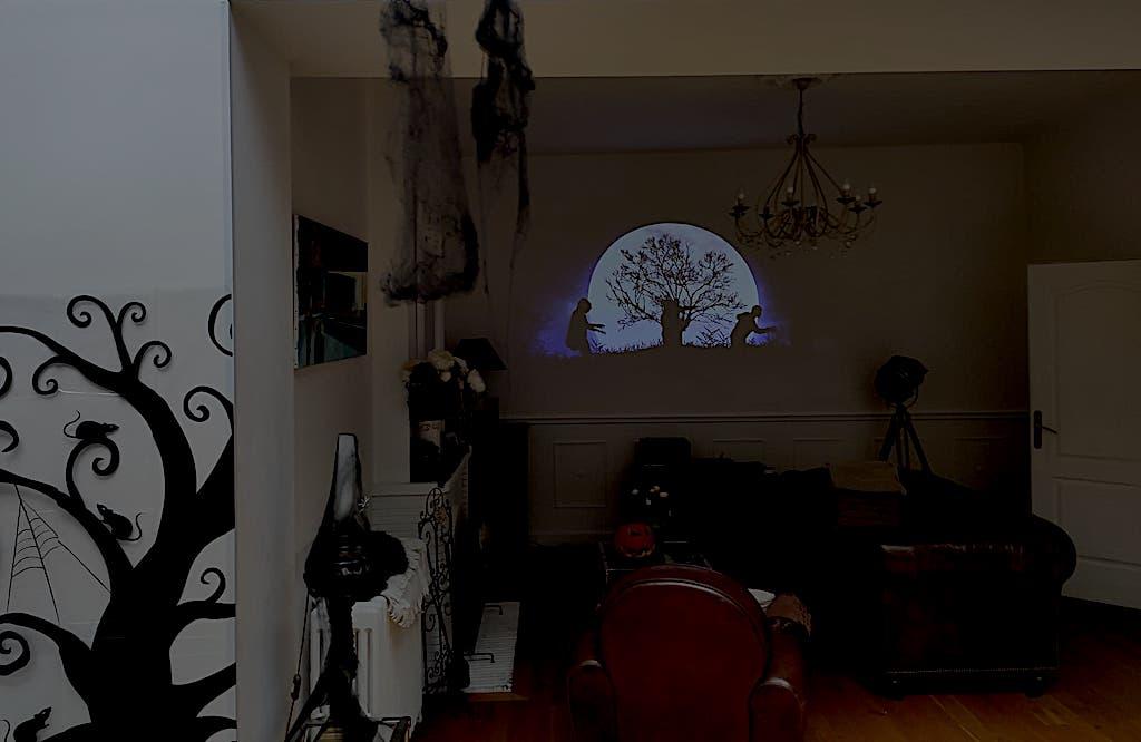 Halloween Alexa maison connectée