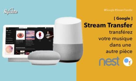 Google Assistant pour transférer votre musique d'une pièce à l'autre