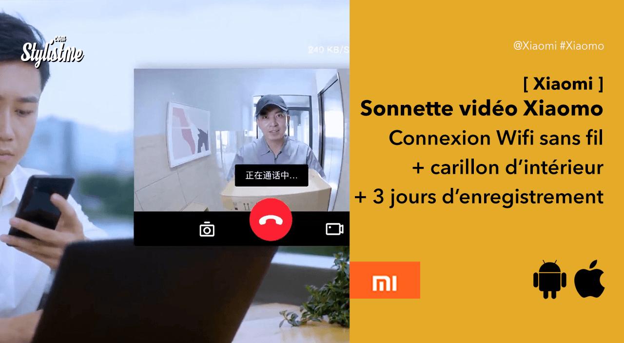 Xiaomo-sonnette-video-sans-fil-Xiaomi