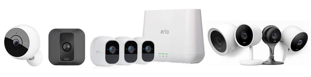 Comparatif caméra surveillance connectée