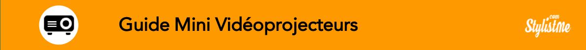 Comparatif meilleur Mini Vidéoprojecteur