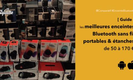 Meilleure enceinte Bluetooth 2020 sans fil étanche portable pas chère
