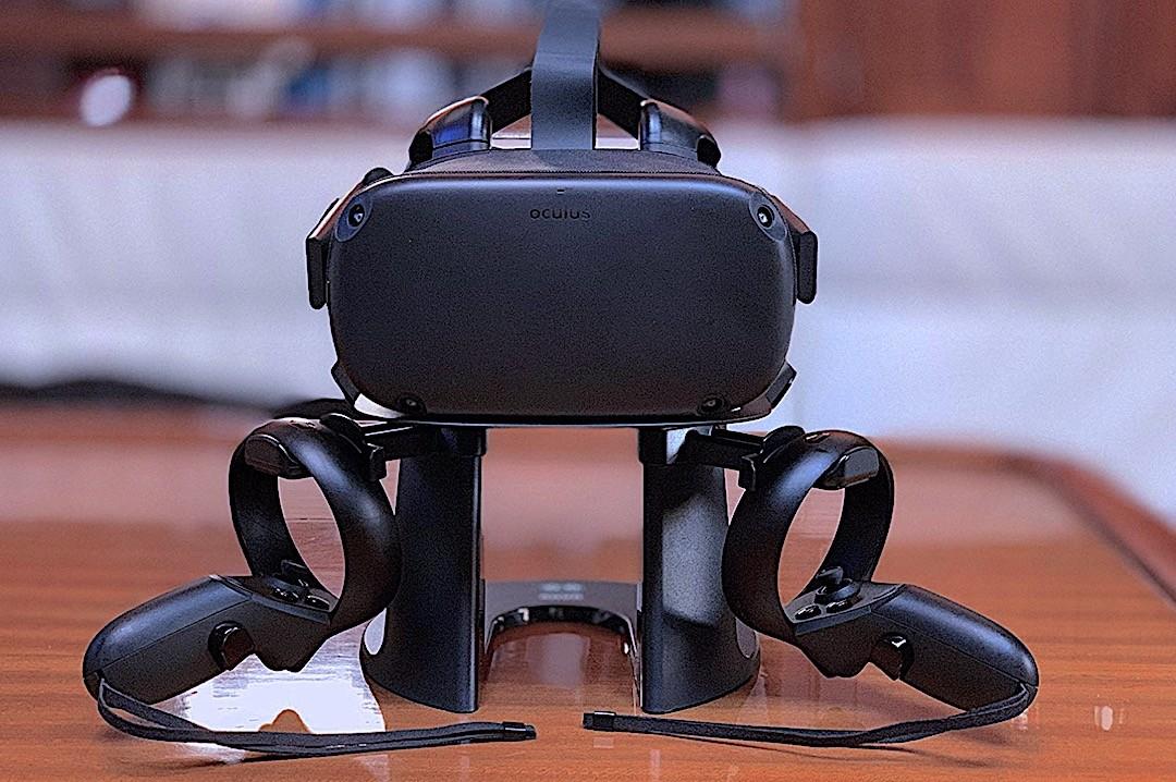 Accessoire Oculus Rift S socle de rangement dock