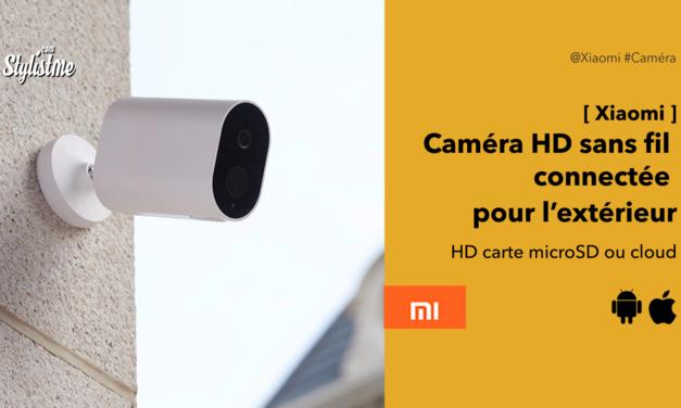 Xiaomi caméra HD extérieure sans fil avis test de la surveillance à petit prix