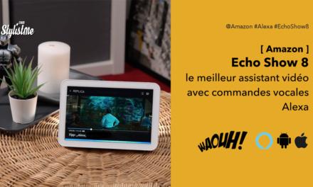 Amazon Echo Show 8 le meilleur écran connectée 2020 Alexa intégrée
