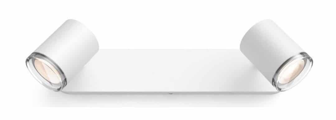 Barre de 2 spots directionnels Philips Hue Adore