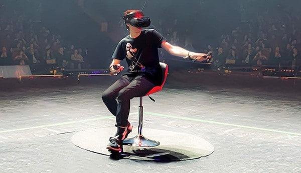 Cyber Shoes déplacer Oculus avec les pieds