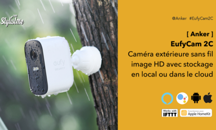 EufyCam 2C meilleure caméra de surveillance connectée sans fil 2020