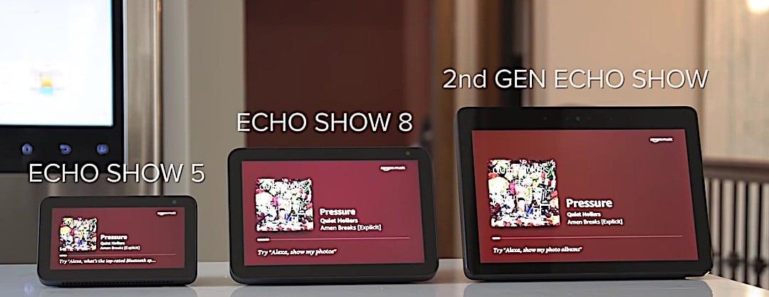 gamme Echo Show Amazon