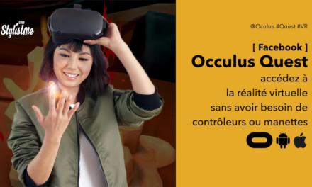 Suivi des mains Oculus Quest début les jeux et apps sans manettes