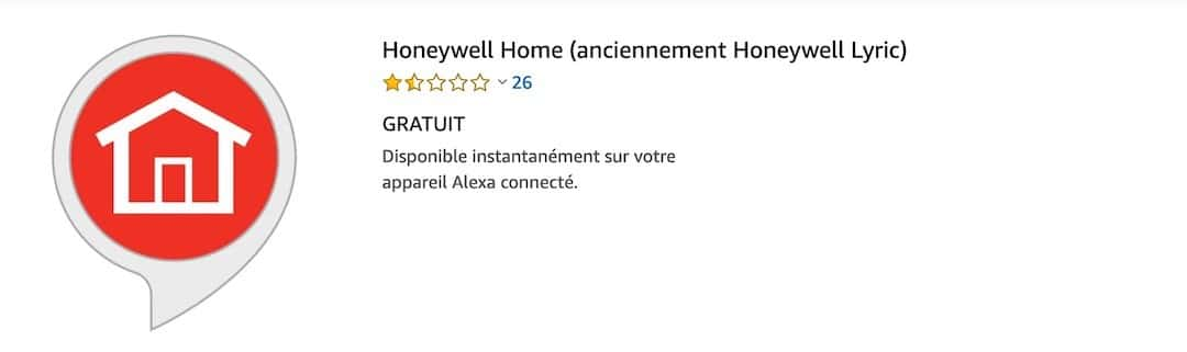 Lyric C2 skill Honeywell Home.