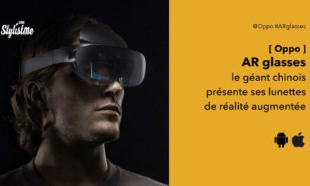 Oppo AR des lunettes de réalité augmentée sans fil et  5G