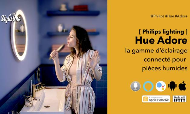 Philips Hue Adore appliques et miroir connectés pour salle de bain