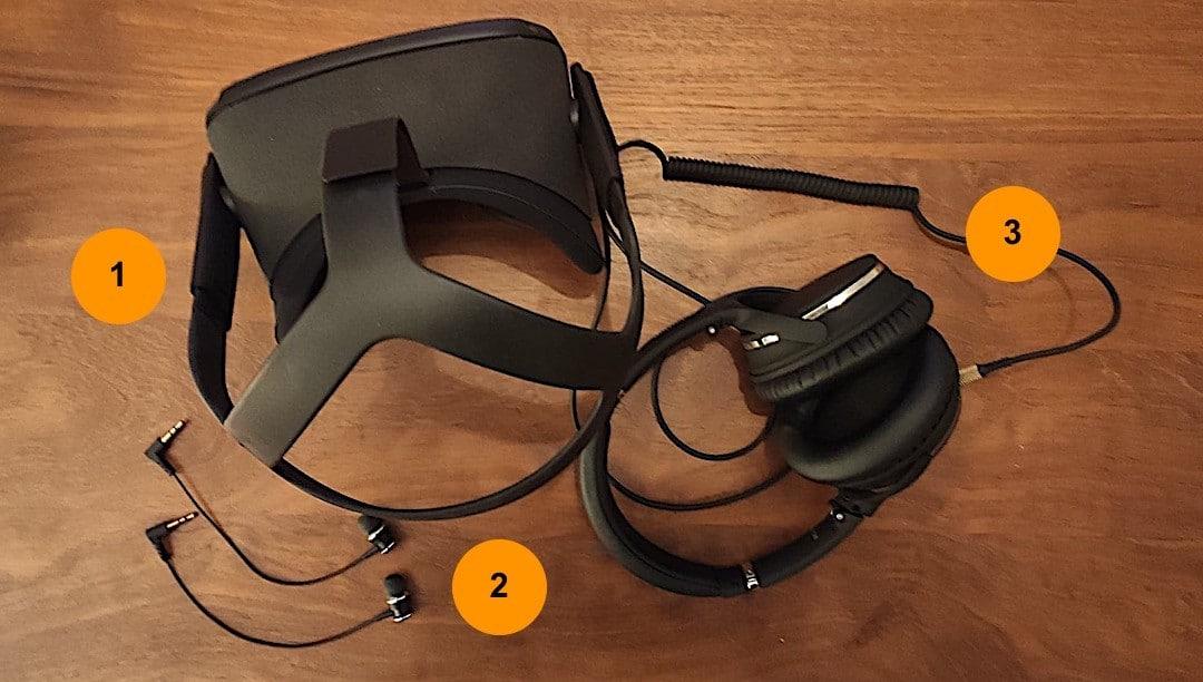 solutions audio pour l'oculus Quest