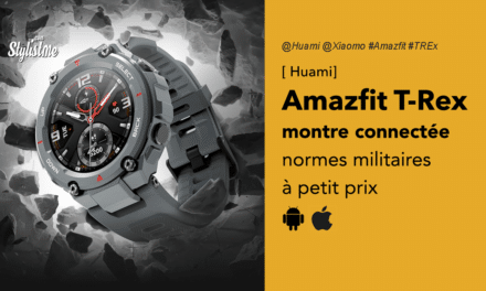Amazfit T-Rex la montre connectée à petit prix pour aventurier