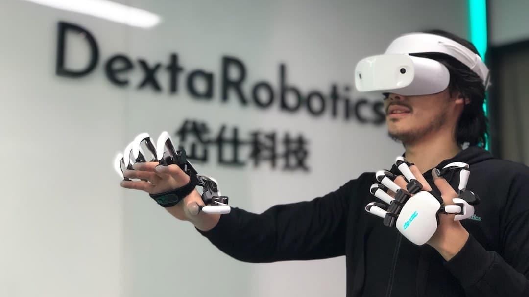 Dexmo gants AR VR avec retour de force