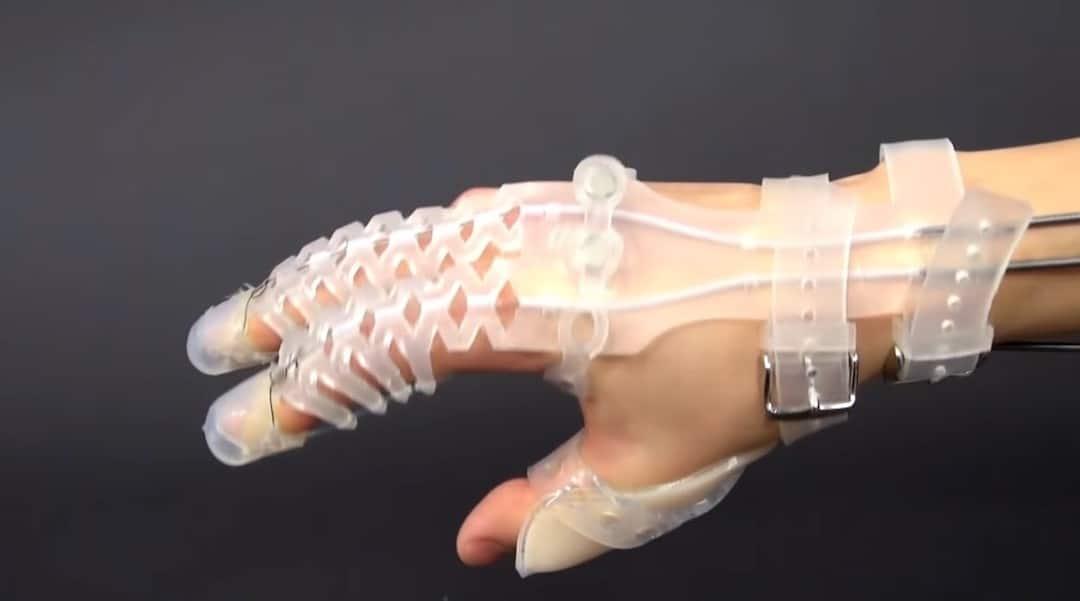exogloves Poly gant robotique handicap