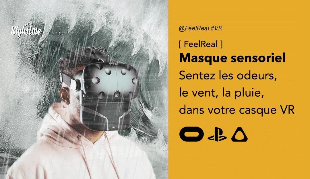 FeelReal masque sensoriel casque VR odeur ventilateur