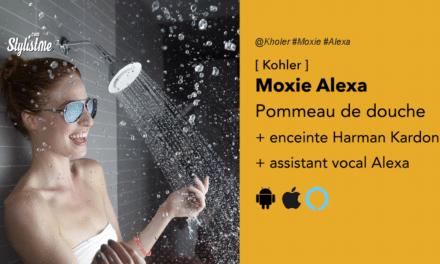 Kohler Moxie écouter la musique sous la douche : Harman Kardon + Alexa