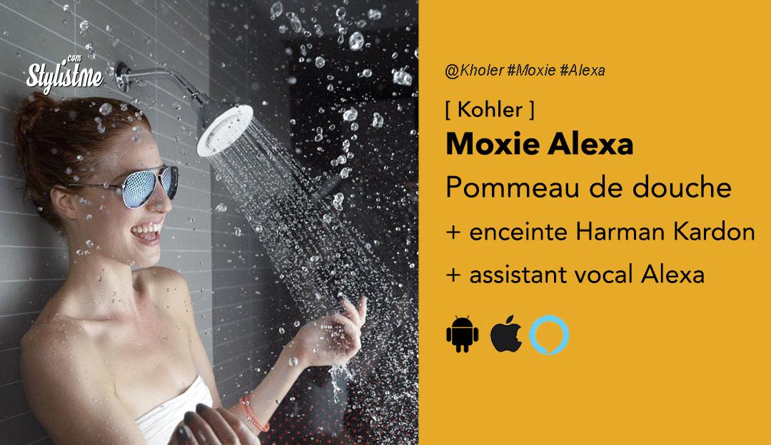 Kohler-Moxie-pommeau-douche-harman-kardon-Alexa