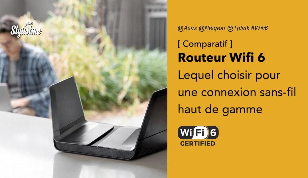 meilleur routeur wifi 6 comparatif guide
