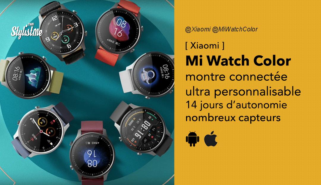 Mi Watch Color avis prix test date Xiaomi