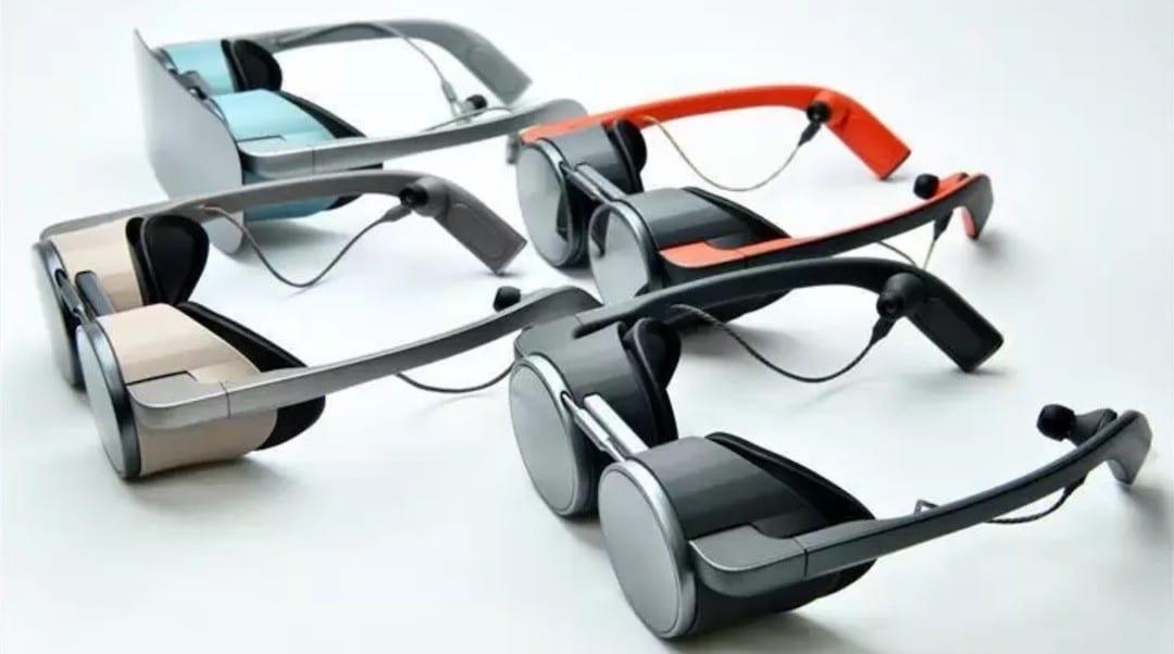 Panasonic lunettes AR réalité augmentée