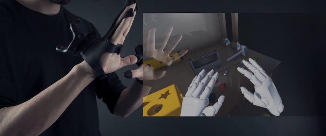 Plexus gants VR retour haptique