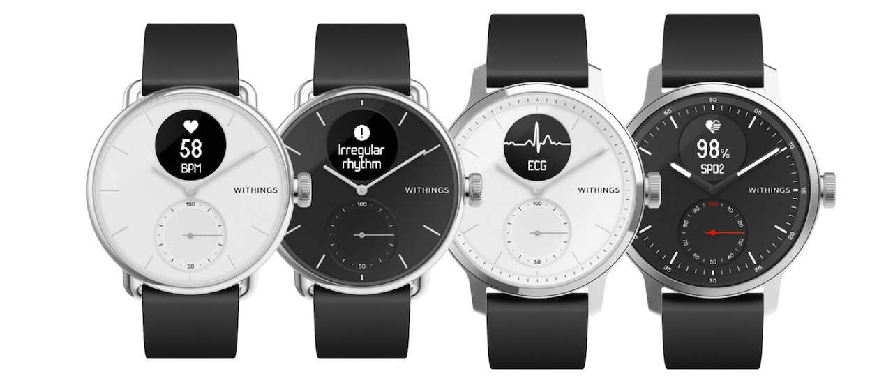 Scanwatcj Withings smartwatch price