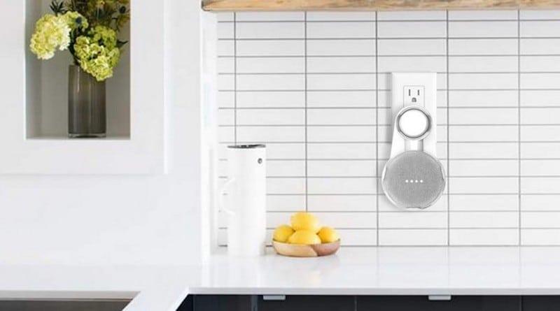 Accessoire support prise murale Google Home mini Nest mini
