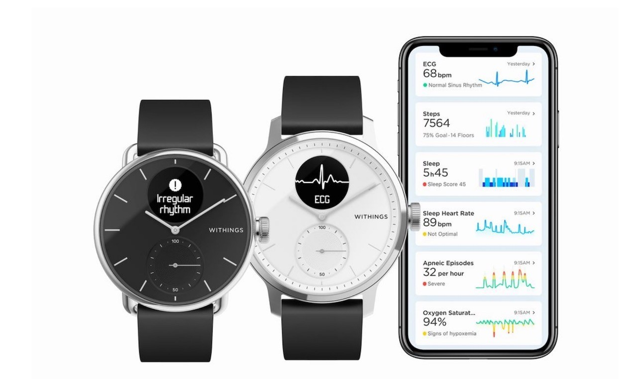 Withings Scanwatch caractéristiques