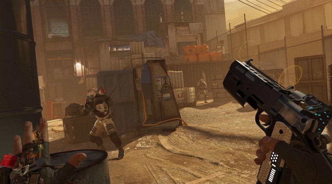 Meilleur jeu Valve Index Half Life Alyx