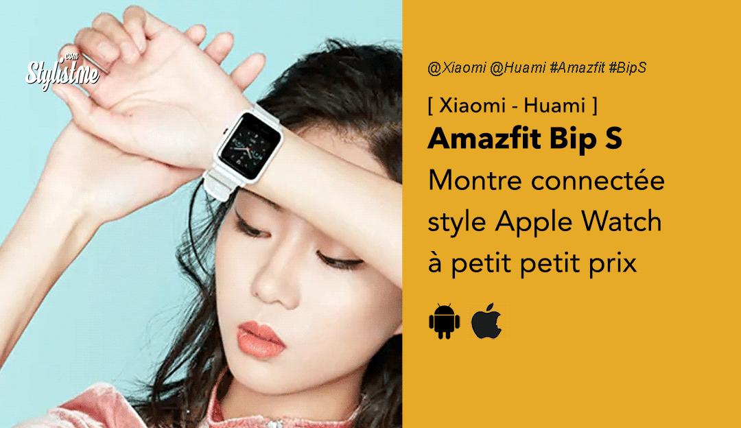Amazfit Bip S prix avis test Xiaomi Huami