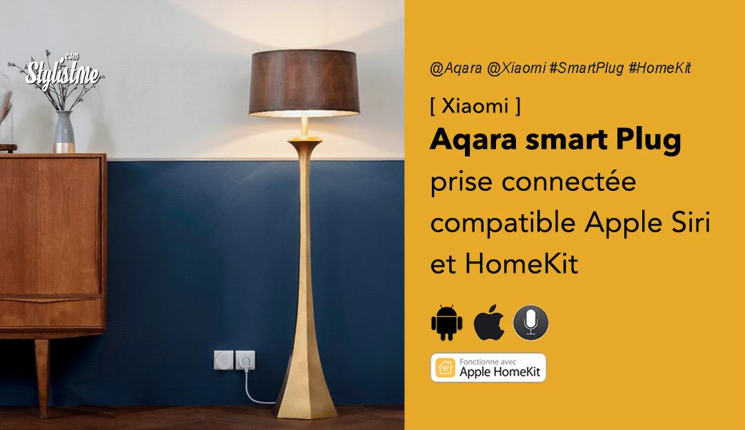 Aqara smart plug prise connectée HomeKit Siri prix avis test